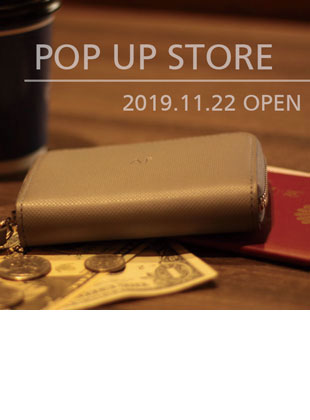 【POP UP STORE】水戸京成百貨店にて11月22日(金)open
